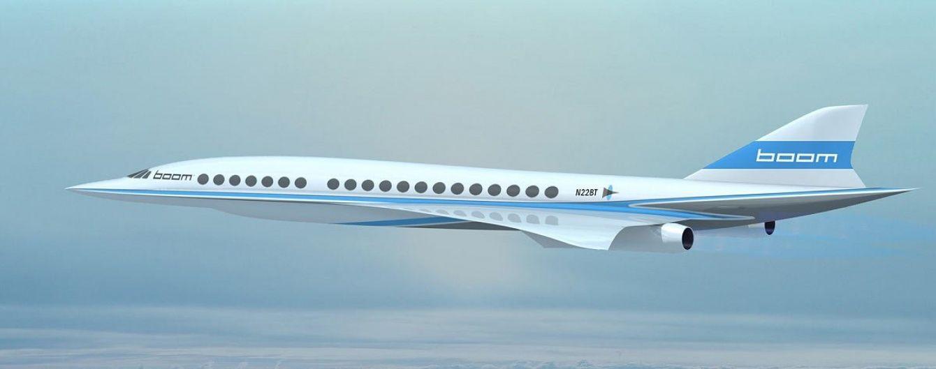 Бренсон планує створити надзвуковий літак, швидший та дешевший за Конкорд