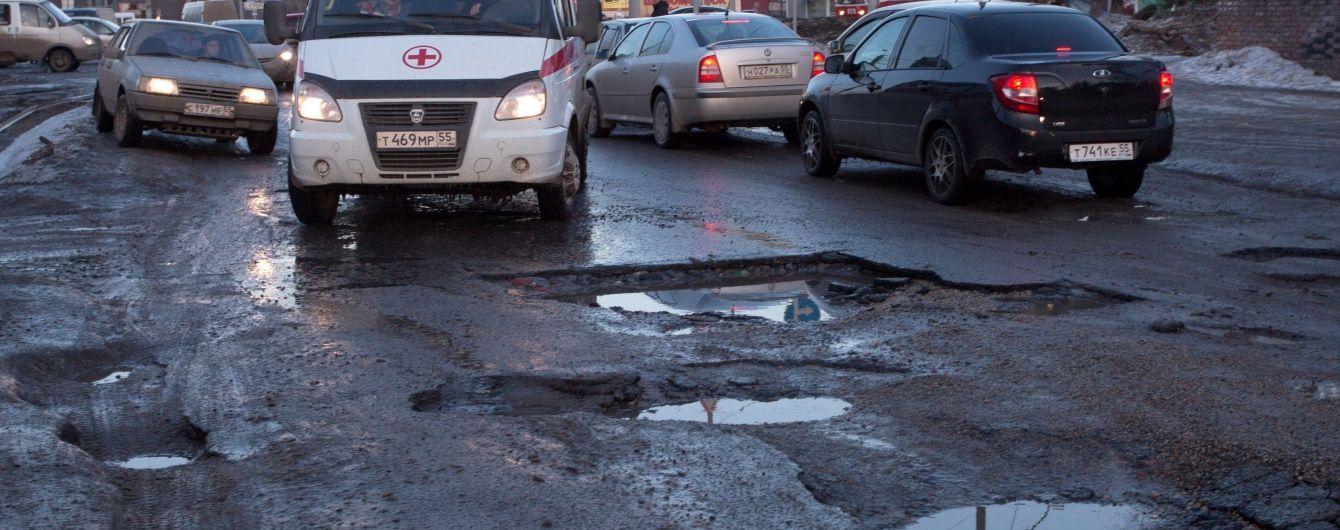 У Росії вирішили не ремонтувати дороги для збереження життя автомобілістів