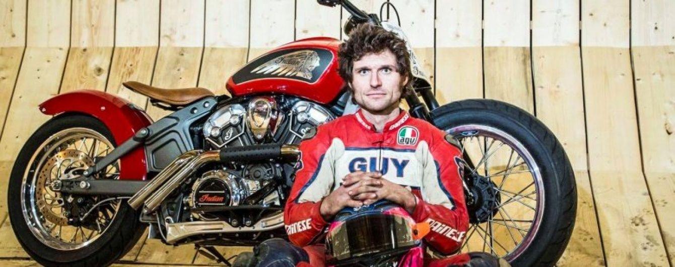 "Англичанин установил мировой рекорд скорости среди мотоциклов на ""Стене смерти"""