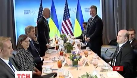 Байден озвучив Порошенко умови, при яких Україна може розраховувати на фінансову допомогу