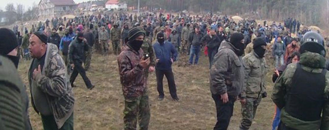 Война за янтарь. МВД обнародовало видео столкновений с копателями