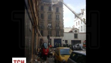 В доме в центре Парижа произошел взрыв