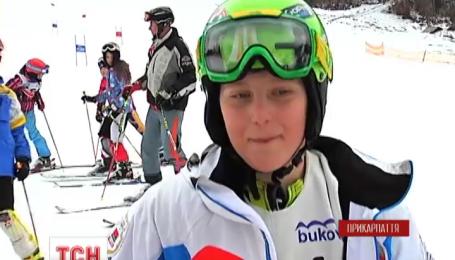На Буковелі завершилися наймасовіші в Україні змагання з гірськолижного спорту серед дітей