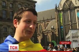 Заради асоціації України з ЄС у Нідерландах влаштували 65-кілометровий велопробіг