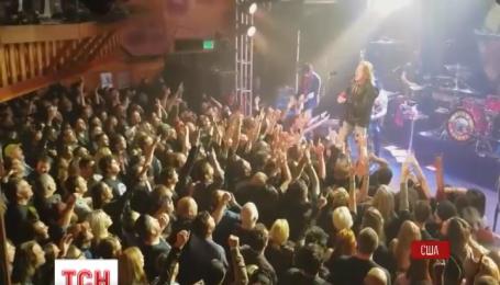 Екс-учасники рок-гурту Guns N' Roses виступили на одній сцені вперше за 23 роки