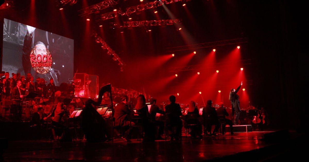 """Rock Symphony у Києві. Фото: Марія Андрійчук, """"Альянс-шатро""""."""