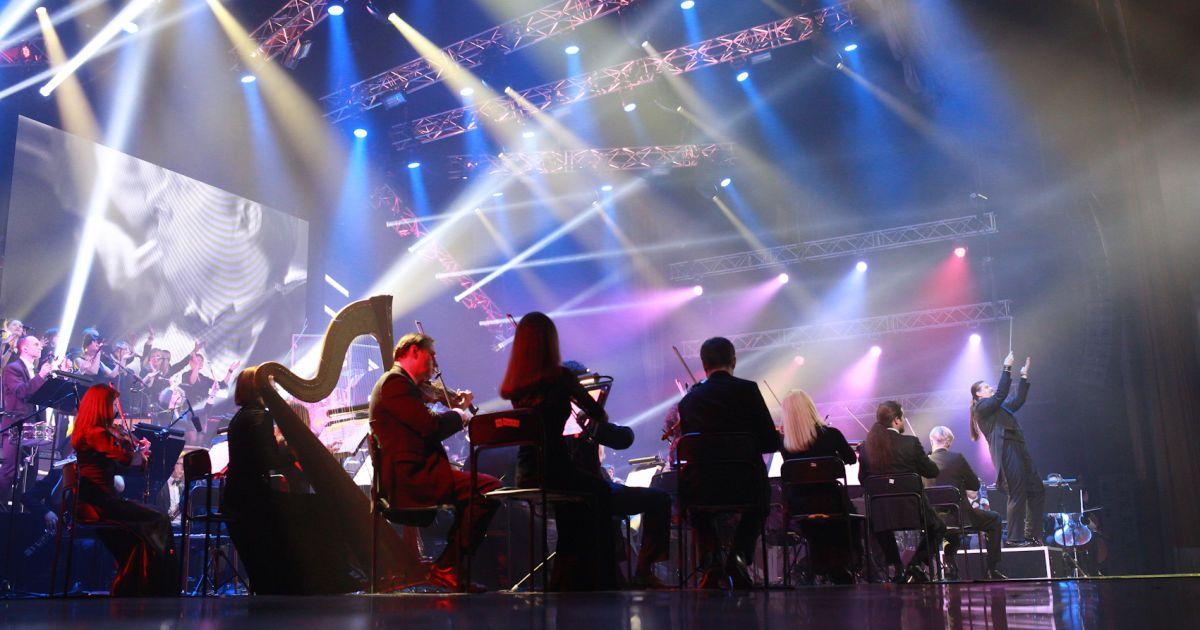 """Rock Symphony у Києві. Ф ото: Марія Андрійчук, """"Альянс-шатро""""."""