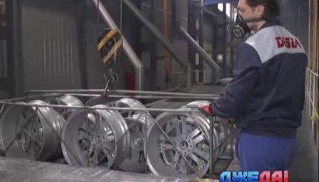 ДжеДАИ посетили украинский завод по производству легкосплавных дисков