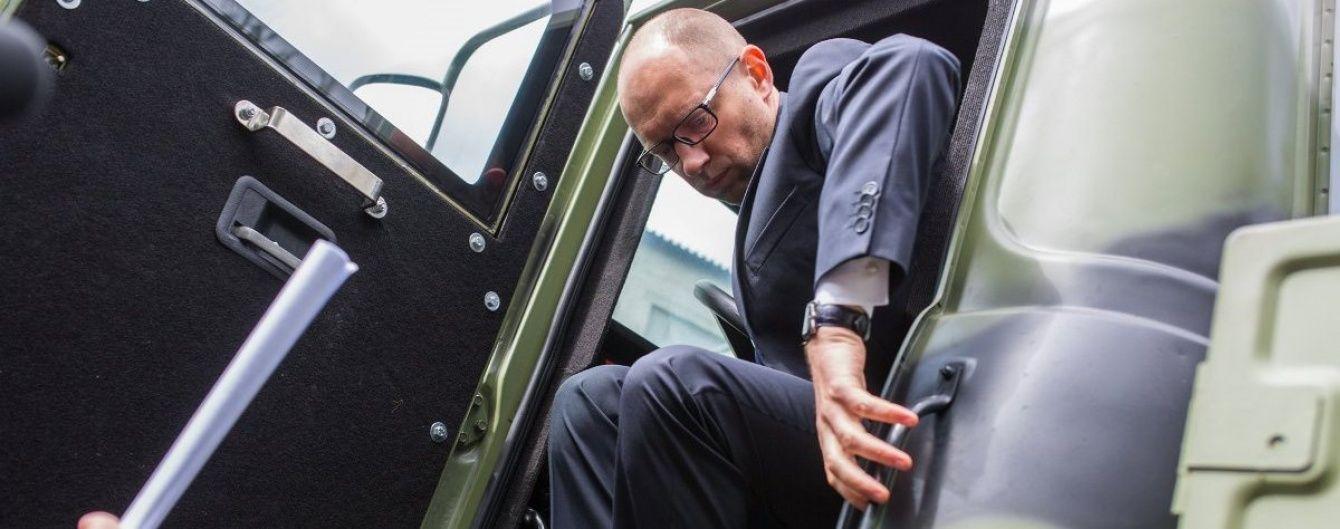 Яценюк инициировал снятие пошлин с импортных б/у авто