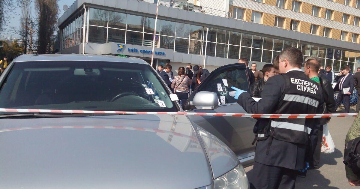 В Киеве среди дня застрелили совладельца спортклуба @ ТСН.ua