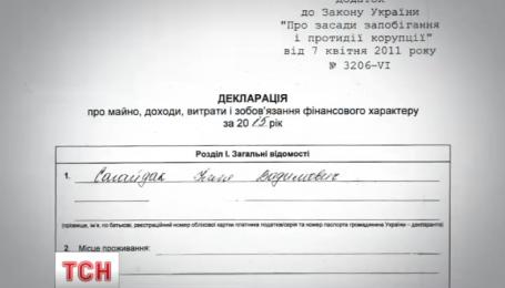 Украинцев поразила декларация заместителя председателя столицы