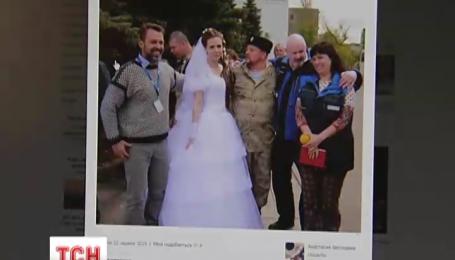 Представники місії ОБСЄ побували на весіллі терористів