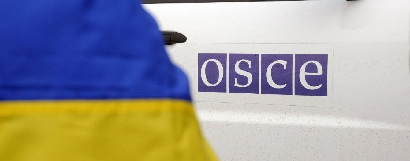 Спостерігачі ОБСЄ потрапили під обстріл у зоні АТО