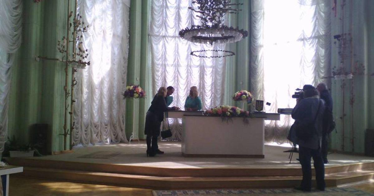 Витовская вышла замуж @ facebook.com/andriy.gontcharouk