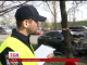 У Києві водій на високій швидкості зачепив дві машини, а в третю - врізався
