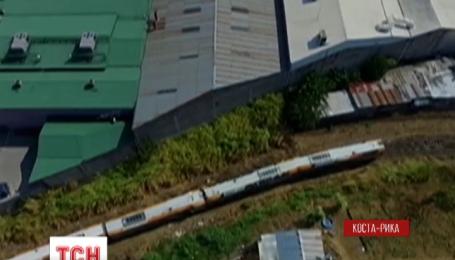 Самолет с кокаином упал на океанском побережье Коста-Рики