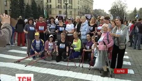 В Харькове сегодня состоялся международный марафон