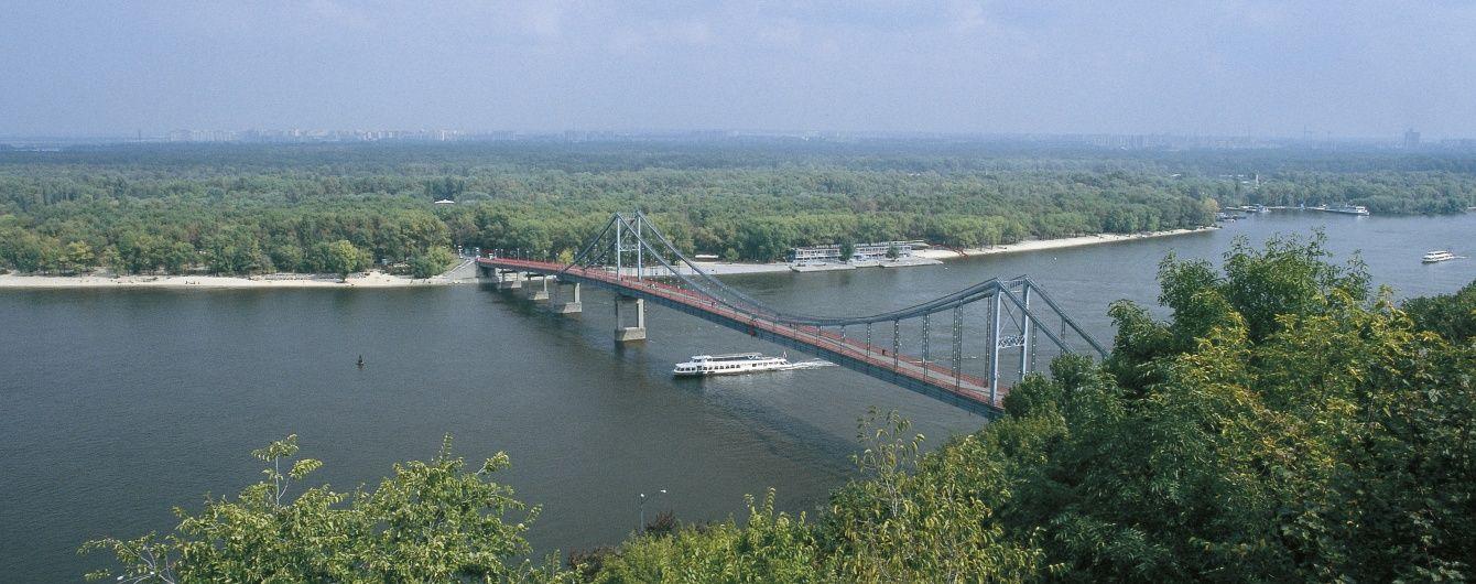В Киеве из-за ремонта ограничат движение по мосту на Труханов остров