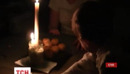 Крым снова будет сидеть без света