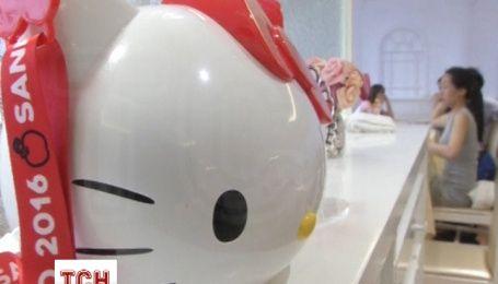 Перший офіційний ресторан Hello Kitty відкрили у Китаї