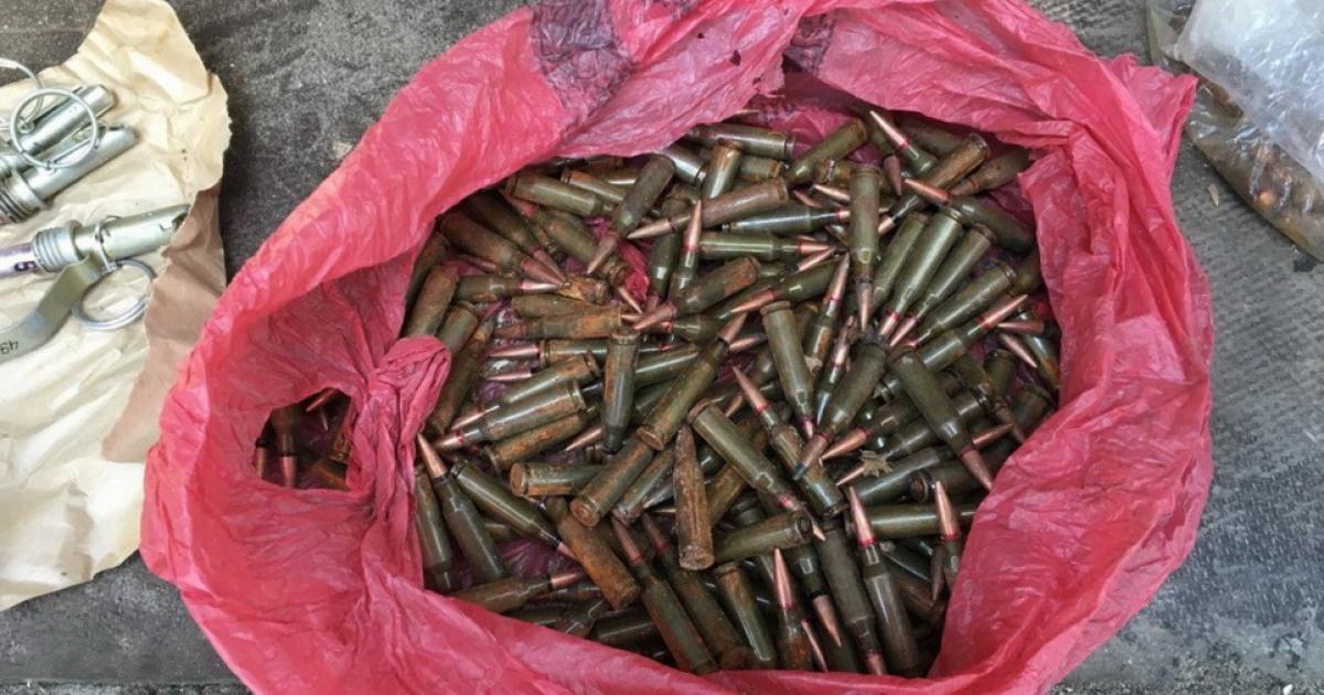 Арсенал зброї із зони АТО виявили на Запоріжжі @ Прес-служба СБУ