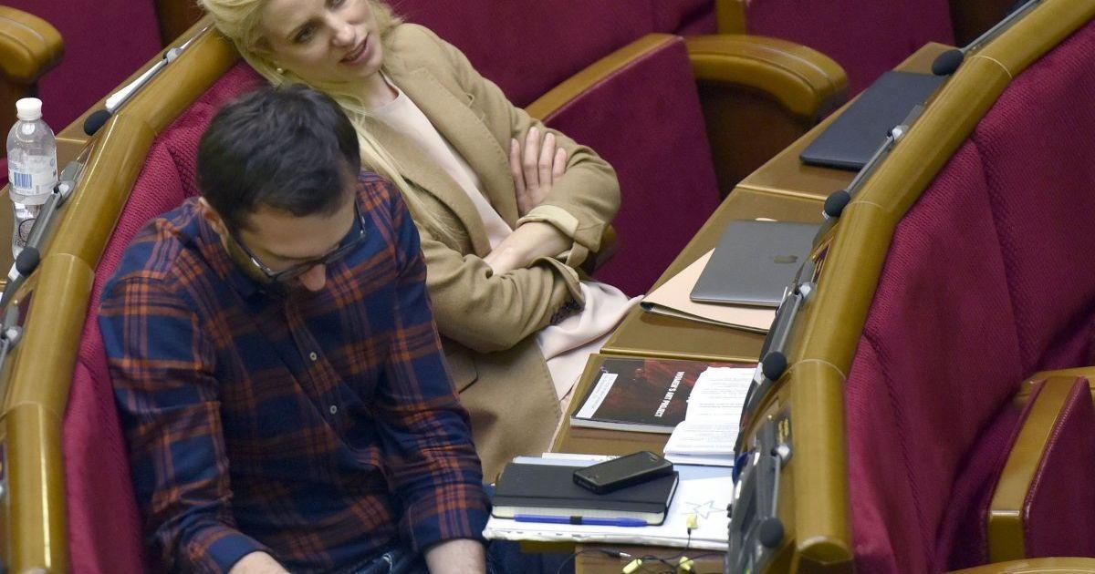 Сергій Лещенко та Світлана Заліщук @ УНІАН