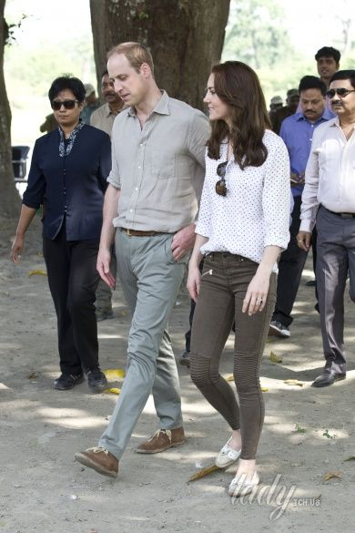 Герцогиня Кембриджская и принц Уильям _7