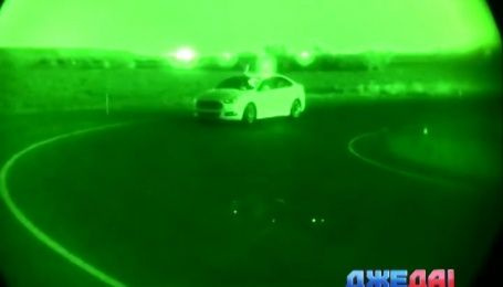В США прошли первые испытания беспилотного автомобиля в условиях темноты