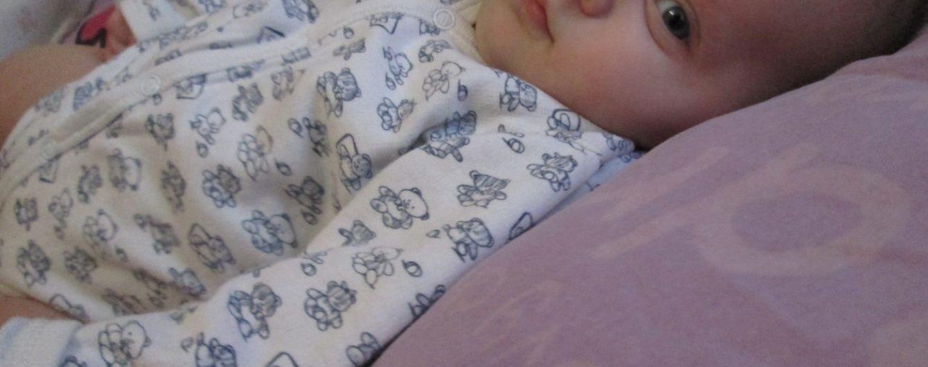 3-місячна Арінка потребує негайної допомоги