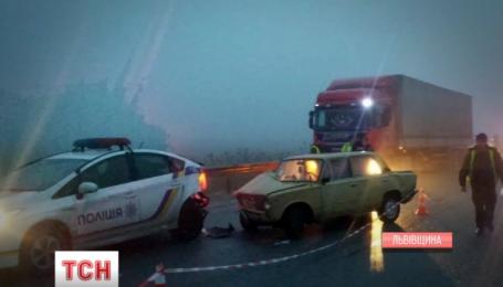 Водитель Жигули стал причиной ДТП возле Николаева