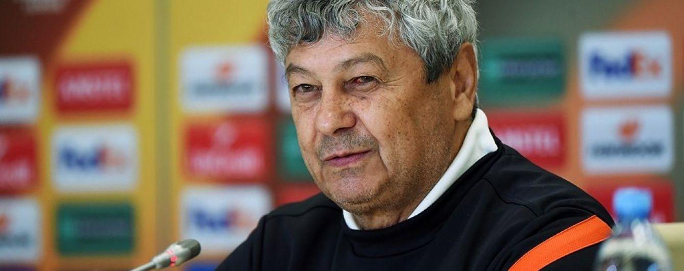 """Луческу: якщо """"Динамо"""" нас не обіграє, значить не заслуговує на чемпіонство"""