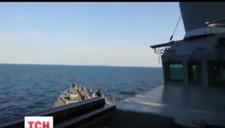 Российские истребители имитировали нападение на американский авианосец