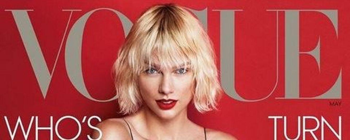 Теперь блондинка: Тейлор Свифт снялась в фотосете для Vogue