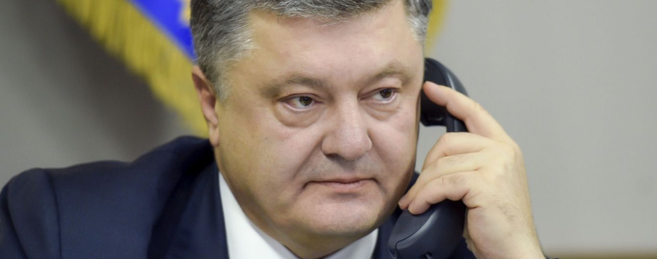 Олланд та Меркель обговорили з Порошенком ситуацію в Україні