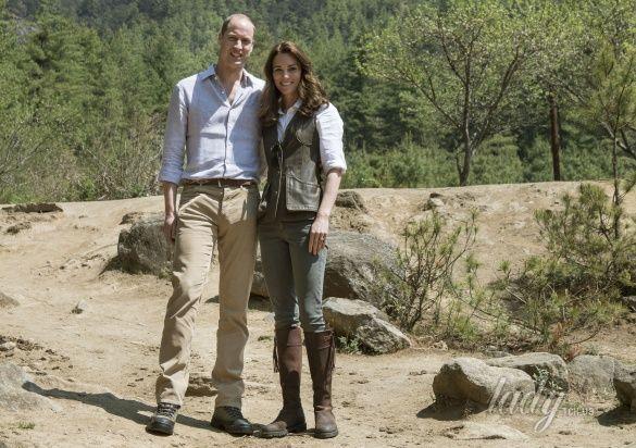 Герцогиня Кембриджская и принц Уильям _4
