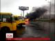 На Дарницькій площі в Києві згорів автомобіль