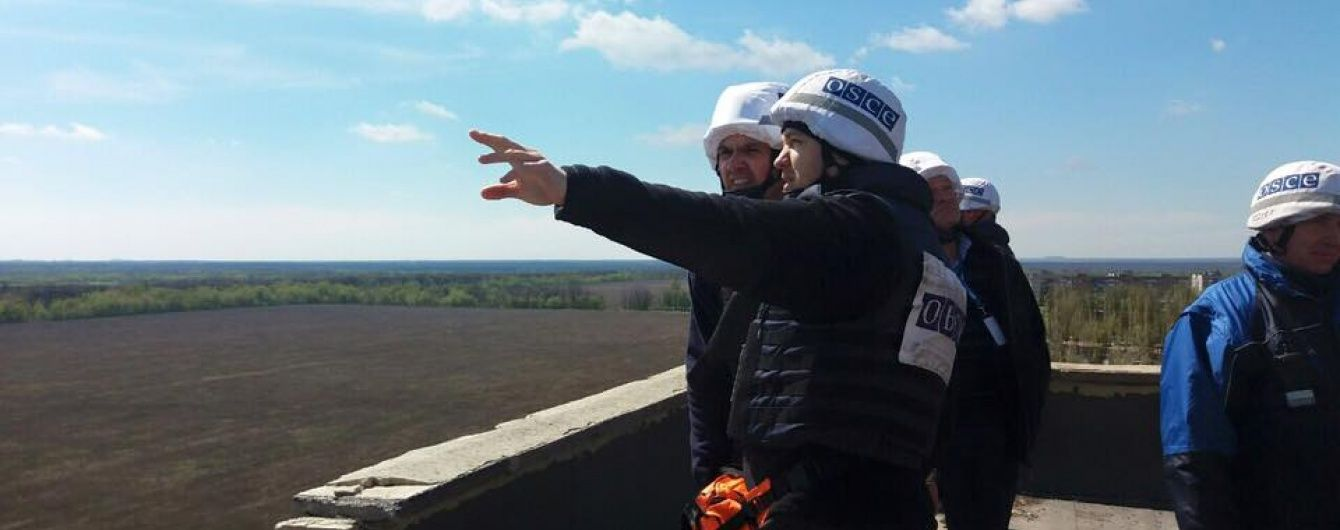 Спостерігачі ОБСЄ зафіксували 54 вибухи на сході України