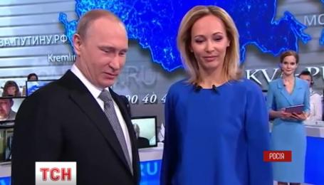 Путин снова уверял россиян, что заинтересован в стабильной и процветающей Украине