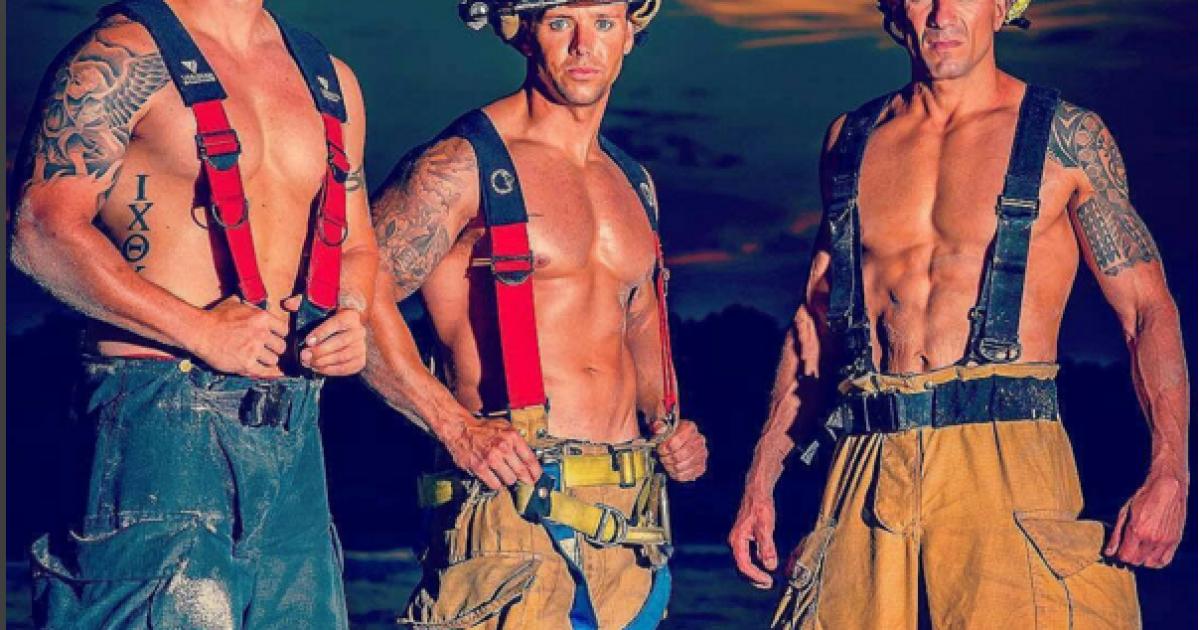 Пожежники демонструють свою фізичну форму @ Instagram/firemenarehot