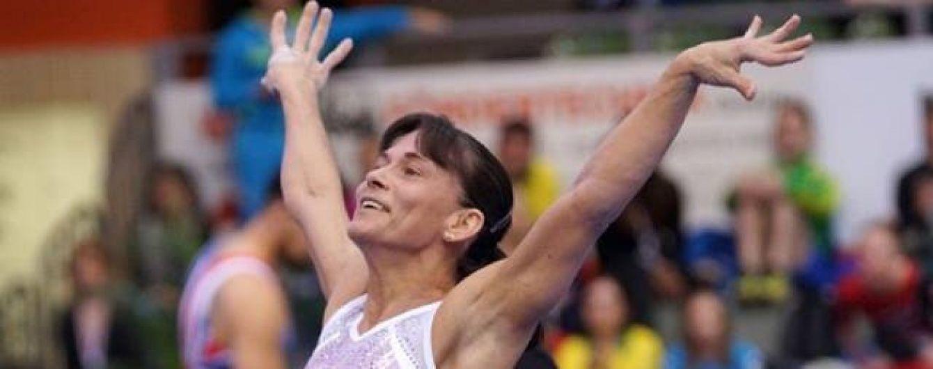 40-річна гімнастка виборола ліцензію на Олімпіаду-2016