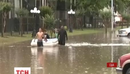 Крупнейший город штата Техас страдает от высокой воды