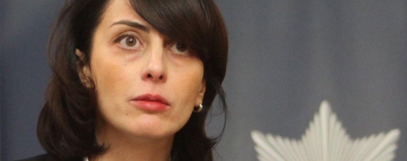 Деканоидзе заявила о вмешательстве политиков в работу полиции
