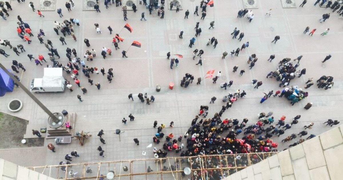 Сутички під КМДА. Правоохоронці відкрили провадження за фактом хуліганства