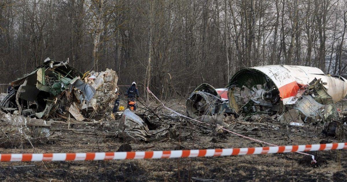 У РФ пояснили, чому не віддають Польщі уламки літака, що розбився під Смоленськом