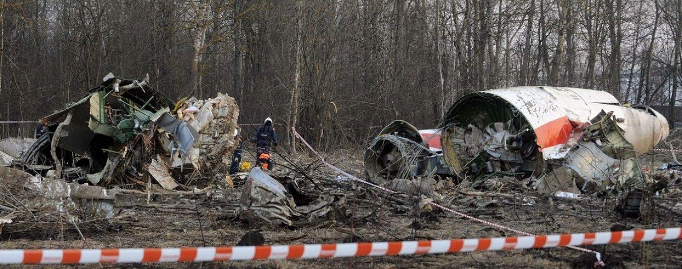 Падіння літака президента Польщі Качинського: причиною катастрофи могли стати два вибухи