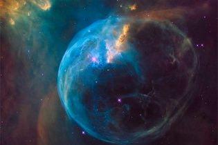 NASA показала космічний міхур