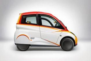 Shell представил трехместный концепт