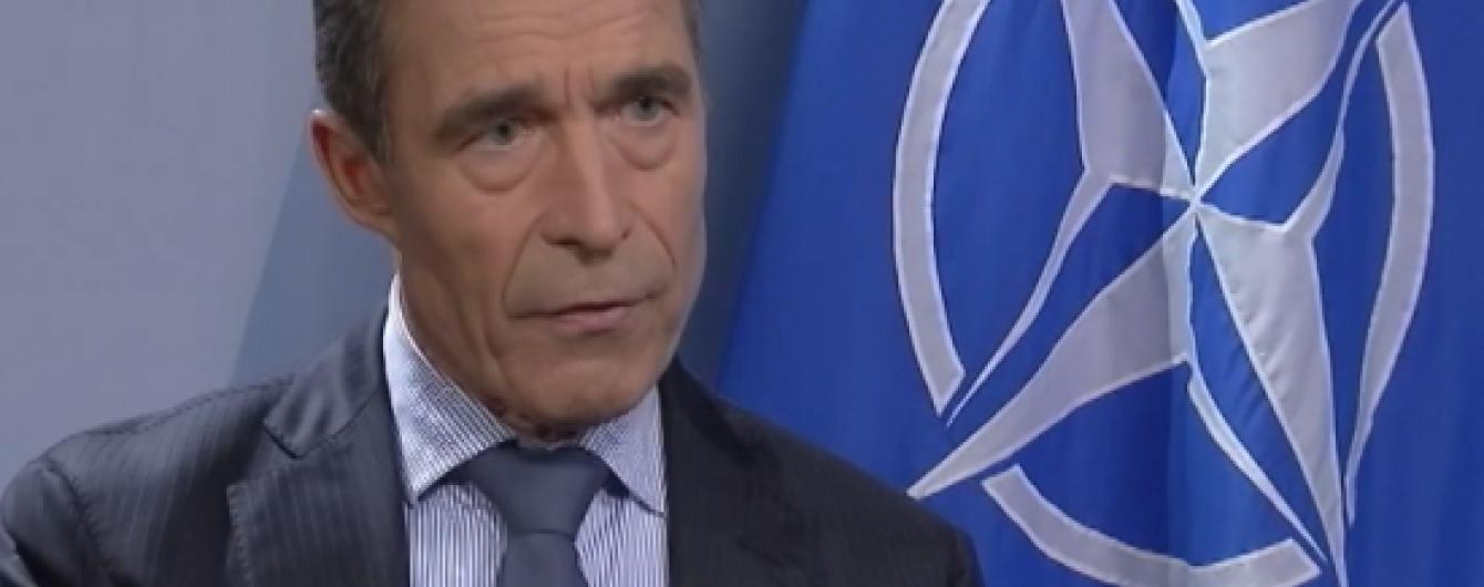 Расмуссен пов'язав подовження санкції проти Росії з реформами в Україні