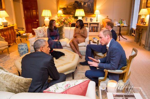 Кембриджи и президент США_6