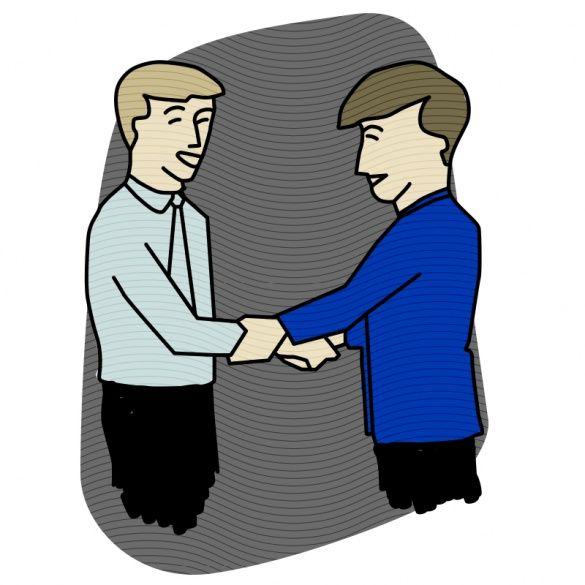 Рукостискання, ілюстрації для блогів_8